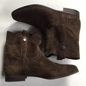 Frye Brown Leather Boots EUC